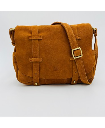 Sac Mila Louise Croute Camel
