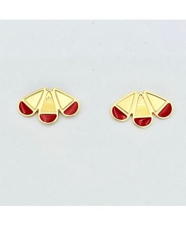 Boucles d'oreilles -puce 7-