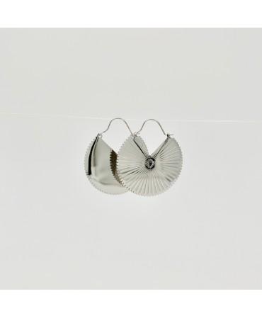 Boucles d'oreilles -creoles...