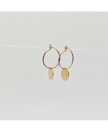 Boucles d'oreilles -Créoles...